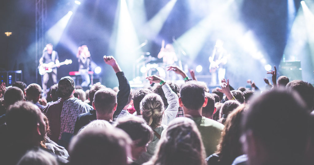 les plus gros concerts de musique de l'histoire