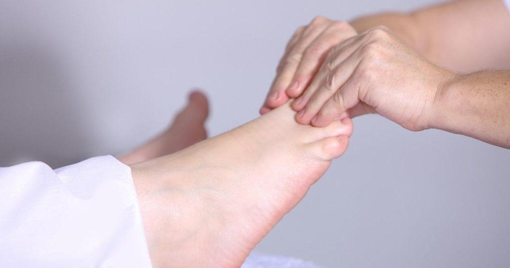 technique de relaxation des pieds
